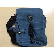 Kipling 經典側背小包-藍色