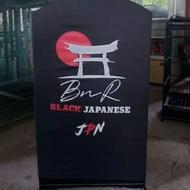Krodong Kotak BnR Black Japanese