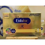 Enfalac เอนฟาแล็ค เอพลัส สูตร 1 นมผง สำหรับ เด็กแรกเกิด - 1 ปี 3850 กรัม (1 กล่อง : 7 ถุง)
