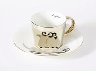Luycho 鏡面倒影杯組 咖啡杯 _ 企鵝寶寶