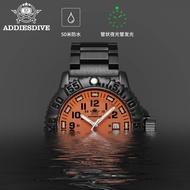 addies/ Addies watch men's waterproof luminous quartz watch sports outdoor military watch