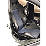 Bucket Seat side Cover for RECARO DC2 DC5 EK9, SR7 SR3 SR
