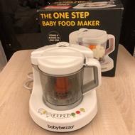 [二手]美國Baby brezza食物調理機+送專用蒸鍋