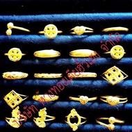 ส่งฟรีEMSลดราคาแหวนทองคำแท้ 96.5% น้ำหนัก1กรัมมีใบรับประกัน