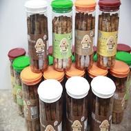 【七號倉儲】就賀呷蛋捲20支/罐--8罐組附提袋(手作蛋捲)