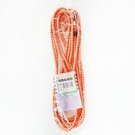編織機車繩 15尺 圓型 機車綁帶 行李繩 彈力繩 固定繩 貨架束帶 花帶 捆貨帶 不挑色