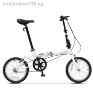 BikeDahon 16 inch ultralight mini folding bicycle adult male and female student children small wheel bike
