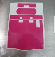 Motorcycle Hot Pink Slim IU sticker [NORMAL MAILING ONLY]