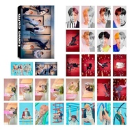 MeiYang 30 Pcs/set KPOP BTS Bangtan Boys LOVE YOURSELF Answer Album Transparent Photo Card PVC Cards Self Made LOMO Card Photocard