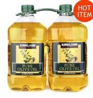 COSTCO好市多代購~KIRKLAND 純橄欖油/精選橄欖油/初榨橄欖油(3公升x1瓶)