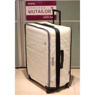 【吳師傅箱套訂製047】LOJEL CUBO 中大型行李箱保護套 行李箱套 旅行箱箱套 邊色可選 加強網紋 透明加厚