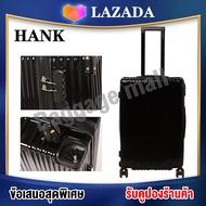 HANK 003 กระเป๋าเดินทาง 20 24 28นิ้ว กระเป๋าเดินทางล้อลาก กระเป๋าล้อลาก กระเป๋าแบบซิป วัสดุPC แข็งแรงทนทาน ล้อหมุนได้ 360 องศา Luggage Suitcases travel bag