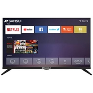 """SANSUI S32 32"""" Inch 720p Smart LED TV, Built-in with HDMI, USB, High Resolution and Digital Noise Reduction(2020 Model)"""