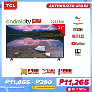 TCL 32 inch HD LED AI Smart TV – Android 8.0 - HDR – Netflix – YouTube (Model LED32S6800)