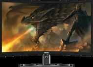 Monitor จอคอมพิวเตอร์ 23.6 MSI Optix G241VC (VA VGA HDMI) 75Hz CURVE FreeSync ส่งฟรี