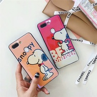 Snoopy oppo r9s r11 r11s r15 plus Phone Cover Case Protector for oppor11 oppor15 Covers Casing Back