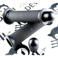 惡魔騎士精品 POSH 握把 握把套 125MM + 實心平衡端子黑色 雷霆 超五 戰將 G6 G5 檔車