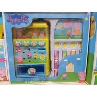 """""""含稅開發票""""正版授權佩佩豬(PeppaPig)賣場汽水機自動販賣機辦家家酒玩具組(公司貨)。黑白寶貝玩具屋。"""