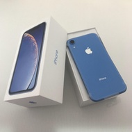 無卡刷卡分期)二手99%新 iPhone XR 128G 128GB 128 XR128 藍色【可分期】