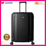 BAGGAGIO กระเป๋าเดินทาง 24 นิ้ว NICASIO รุ่น PC120-M-BK ขนาด 47.5 x 24.5 x 66 ซม. สีดำ สินค้าแท้
