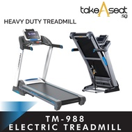 TM-988 Foldable Electric Treadmill ★ Auto Incline Adjustment ★ Home Gym Exercise ★ Jogging ★ Running
