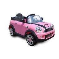 Mini Cooper S 電動車~~兒童(遙控)電動車寶馬授權~粉紅色