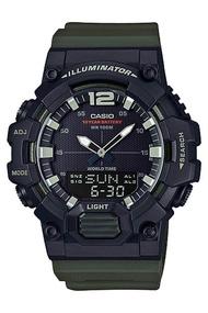 Casio Standard นาฬิกาข้อมือผู้ชาย สายเรซิน รุ่น  HDC-700HDC-700-3AHDC-700-3AVDF - สีเขียว