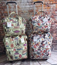 Christmas Gift Women Unisex  Tote / Shoulder /Travel /Couple Bag Trolley Bag Anello Luggage cabin