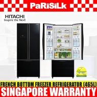 Hitachi R-WB560P9MS French Bottom Freezer Refrigerator (465L)