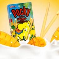 【固力果glico】pocky 芒果棒 25gx6盒入