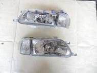 大禾自動車 全新TERCEL原廠型晶鑽大燈一組二顆1300元+角燈二顆400特價中DEPO製