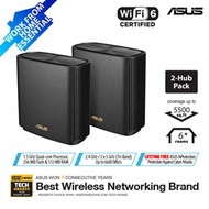ASUS ZenWiFi AX (XT8) Black AX6600 Whole-Home Tri-band Mesh WiFi 6 System – Coverage up to 5500 Sq.
