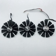 華碩猛禽ROG STRIX GTX1060 1070 1080TI顯卡風扇三風扇顯卡專用