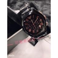 -KLG- Armani 黑色陶瓷腕錶 美國代購正品 Armani手錶 AR1410  AR1400