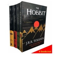 [4 books Collection] The Hobbit + Lord of the Rings Trilogy นิยายภาษาอังกฤษ English extracurricular Reading books