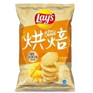 【Lay's 樂事】香焙波浪香焗起司味洋芋片89g