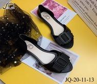 HOT รองเท้าแฟชั่น รองเท้าคัชชูหุ้มส้น หัวแหลม รองเท้าแฟชั่น เหมาะสำหรับทุกวัย