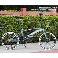 Hito X6 20/22 Inch Foldable Bicycle Shimano Accessories Outdoor Sports Bike Aviation Technology (high-quality Aluminum) Made In Germany, No Installation Required, Gift xvmmbd