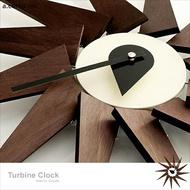E&J 【B19013】a.cerco Turbine Clock 渦輪掛鐘 經典設計/北歐風/loft風/普普風