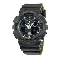 G-Shock GA-100 Military Series Black Green