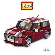 --庫米--LOZ mini 鑽石積木-1111 單門小車 迷你樂高 迷你積木  mini cooper