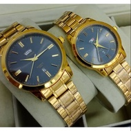 CITIZEN Waterproof watch (Gold Colour) for Men & Ladies