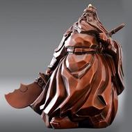 【雕塑藝術大師 羅廣維】開運陶源 銅雕(威風凜凜-關公)