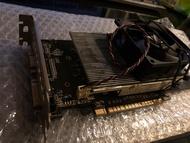 微星MSI GTX750TI 2GD5 支援HDMI、D-SUB 免插電、功能正常 (絕非假卡)