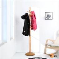 【BuyJM】實木加重底盤衣帽架/吊衣架