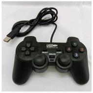 PC 電腦遊戲用 USB 介面 遊戲手把 單打單振動 PS2外型 隨插即用  W02 【支援Win10】