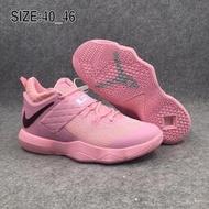 NIKE Ambassador X 詹姆斯LBJ使節10 男鞋 低幫運動鞋 騷粉 籃球鞋
