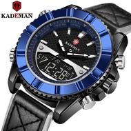 KADEMAN Fashion Classic Digital Display Men's Brand Watch Classic Aesthetics Workmanship Perfect Quality Watch Men K9069