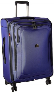 DELSEY Paris Cruise Lite Softside 25 Exp. Spinner Suiter Trolley, BLUE