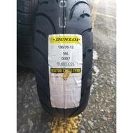 MOTORS-DUNLOP登錄普D307.RUNSCOOT.12吋130-70-12.$1300含工資.氮氣填充.平衡